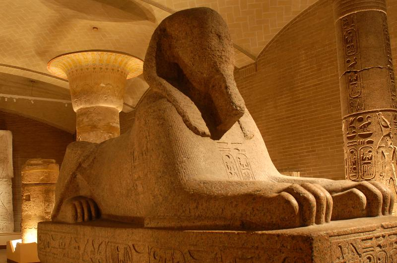 The Granite Sphinx Of Ramses Ii Egyptian Highlights