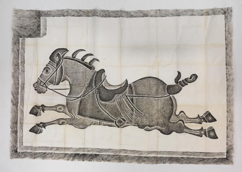 Baitiwu the horse running