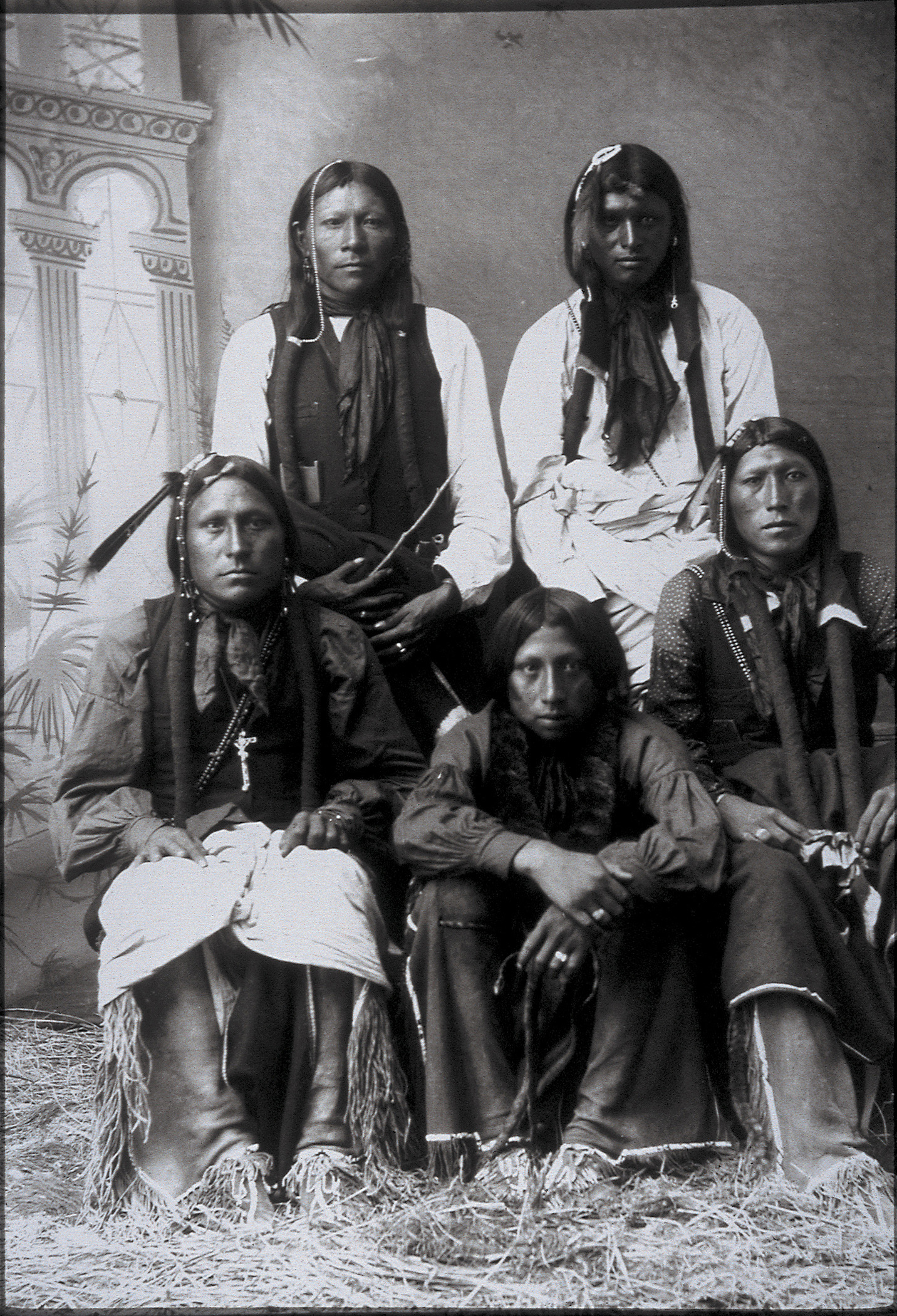 Five Indian men