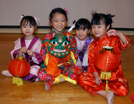 Chinese For Families Dancers