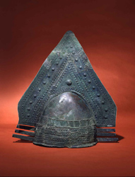 Etruscan helmet from Penn Museum collection