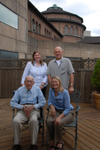 Warren Kamensky and Penn Museum staff