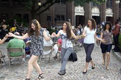 Line Dance @ Penn Museum
