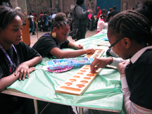 Playing Mancala at Penn Museum