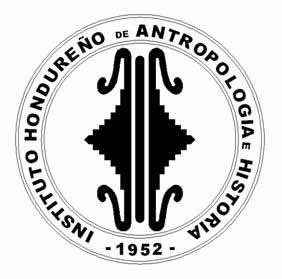 Instituto Hondureño de Antropologia e Historia of the Republic of Honduras