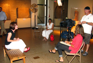Jennifer Wegner interviewed by Channel 6 ABC