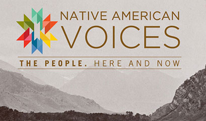 Native American Voices logo
