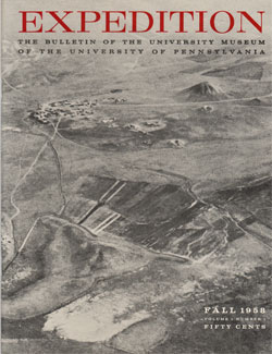 Expedition Volume 1, Number 1 Fall 1958