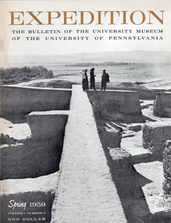 Expedition Volume 1, Number 3 Spring 1959