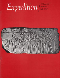 Expedition Volume 10, Number 1 Fall 1967