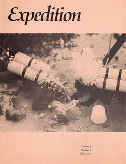 Expedition Volume 13, Number 1 Fall 1971