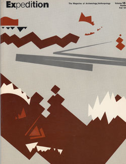 Expedition Volume 15, Number 1 Fall 1973