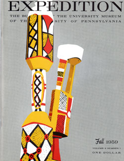Expedition Volume 2, Number 1 Fall 1959