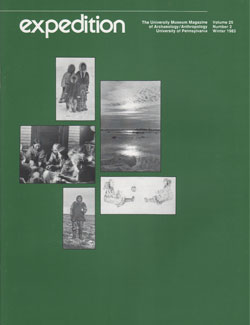 Expedition Volume 25, Number 2 Winter 1983