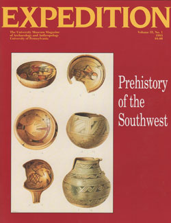 Expedition Volume 35, Number 1 Spring 1993