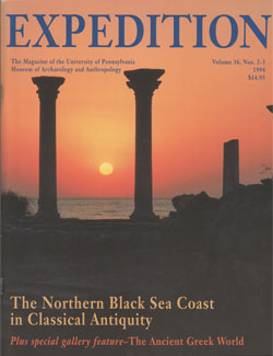 Expedition Volume 36, Number 2 - 3 Summer/Winter 1994