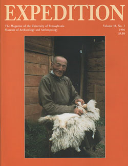 Expedition Volume 38, Number 3 Winter 1996