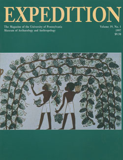 Expedition Volume 39, Number 1 Spring 1997