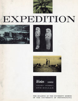 Expedition Volume 4, Number 2 Winter 1962