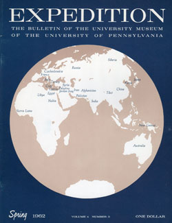 Expedition Volume 4, Number 3 Spring 1962