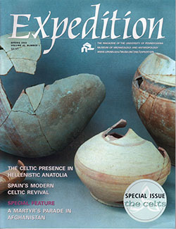 Expedition Volume 45, Number 1 Spring 2003