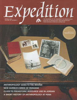 Expedition Volume 48, Number 1 Spring 2006