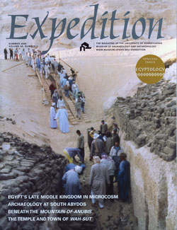 Expedition Volume 48, Number 2 Summer 2006