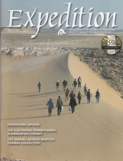 Expedition Volume 50, Number 3 Winter 2008