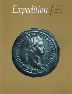 Expedition Volume 8, Number 2 Winter 1966