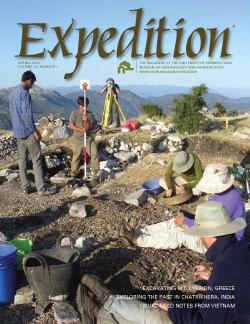 Expedition Volume 51, Number 4