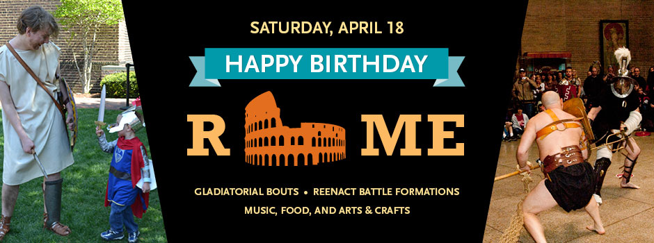 Rome's Birthday Celebration