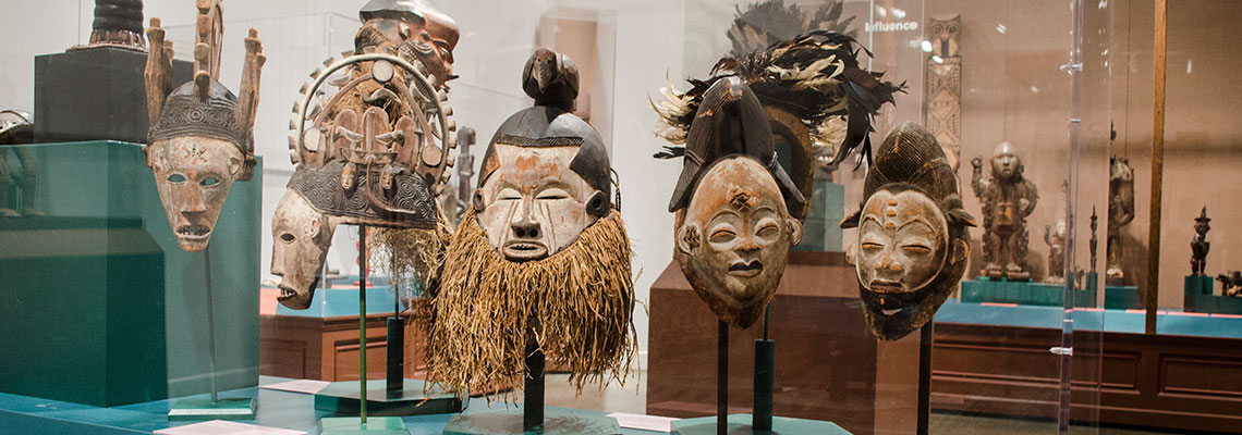 africa Signature Gallery at the Penn Museum