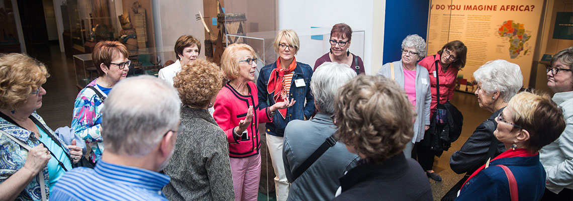 People on a Tour in the Museum