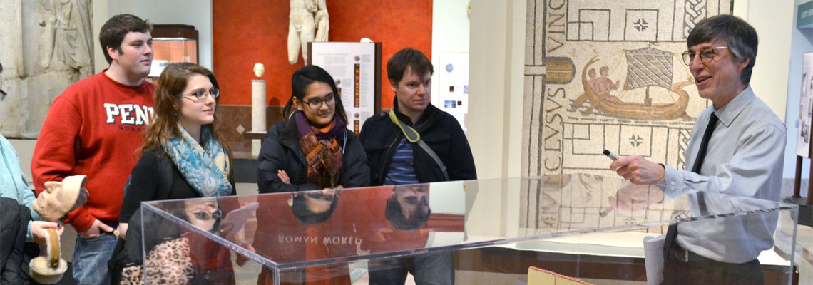 Opportunities for College Students at the Penn Museum