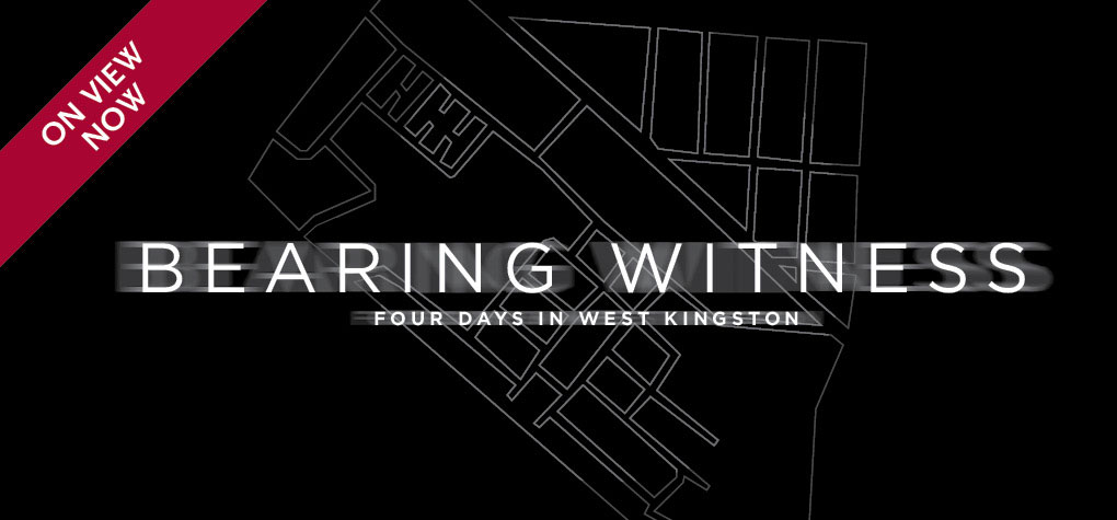 Bearing Witness Exhibition logo