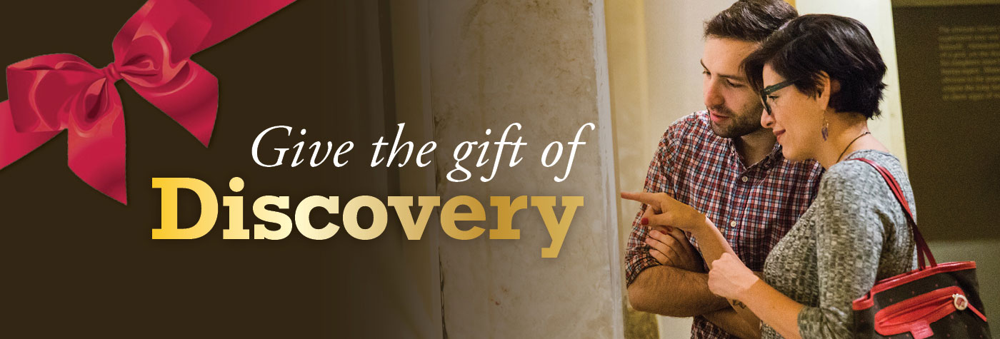 Members in the Gallery: Give the Gift of Discovery