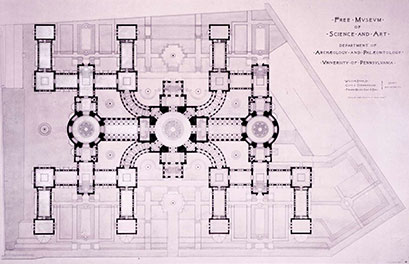 blueprint of building