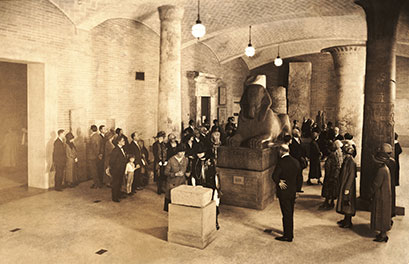 Photo of Sphinx in gallery