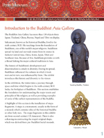 Buddhism Gallery Guide