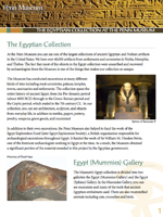Egypt Gallery Guide
