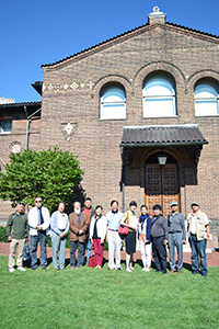 Chinese Artists Visit Penn Museum