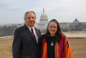 John Echohawk and Suzan Harjo 2011