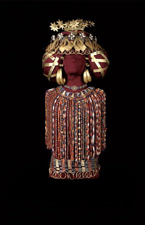 Puabi's Headdress and Jewels. Penn Museum.
