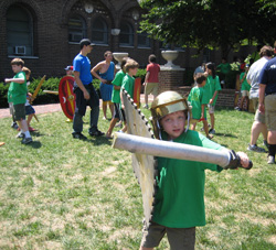 Come to GLadiator Day at Penn Museum!