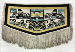Chilkat Blanket. Penn Museum Object 31-29-12.