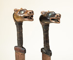 Tlingit Daggers. Penn Museum Objects NA1288a/b.