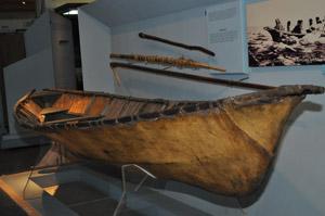 Penn Museum's umiaq