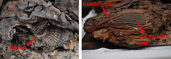 Details of some of the items buried with the mummy