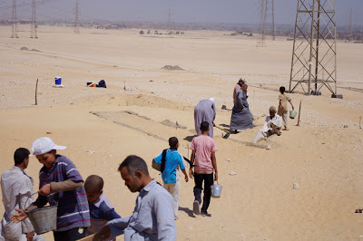 Excavations underway in Abydos