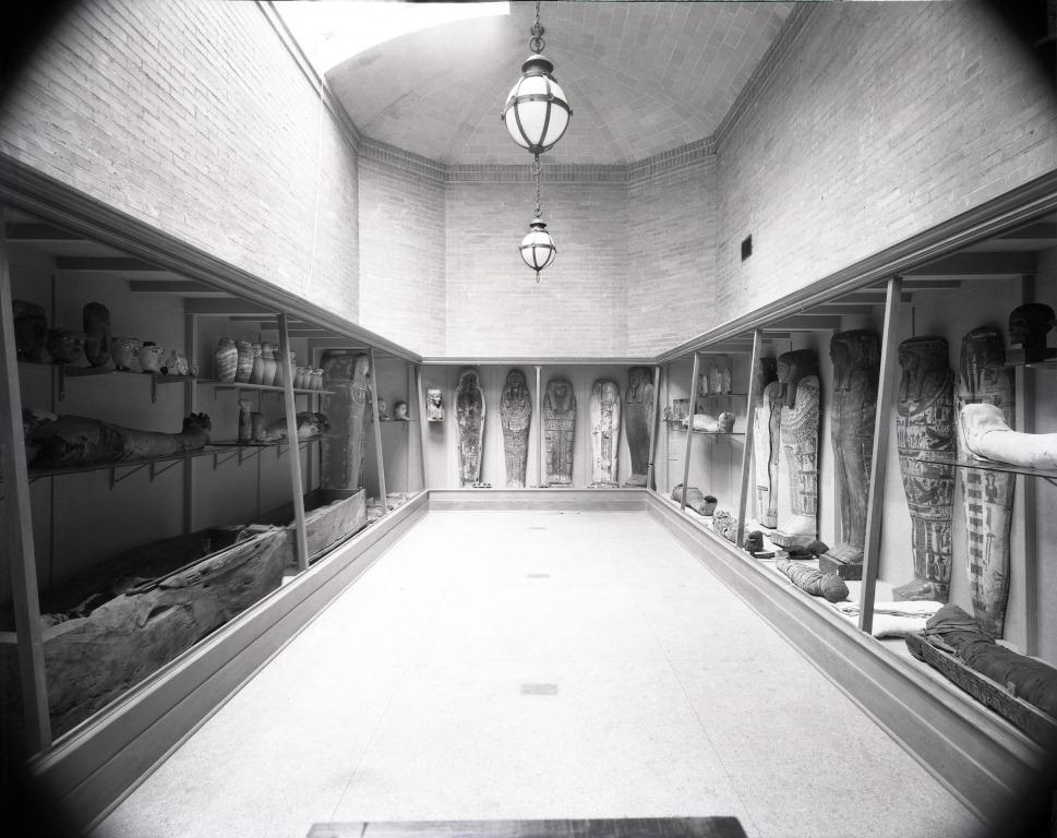 "The ""Mummy Room"" ca. 1935"